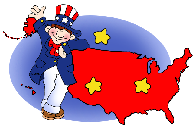 Uncle Sam and Map